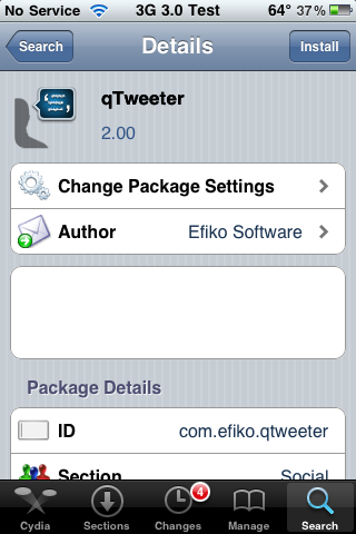 qTweeter Update – Upload Videos to Twitter and Facebook on First Gen iPhone, iPhone 3G and iPhone 3GS