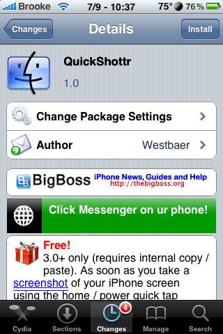 QuickShottr – Automatically Sends Screenshots to ImageShack and Clipboard