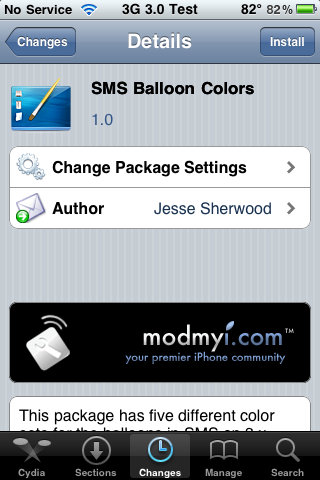 SMS Balloon Colors