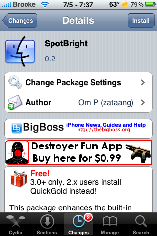 SpotBright – Makes Spotlight Search Launch Hidden Apps