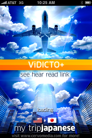 "ViDICTO+ Mytrip: ""Learn"" a new language through pictures, voice, words, and phrases."