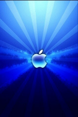 blue_fractal_apple_logo_iphone
