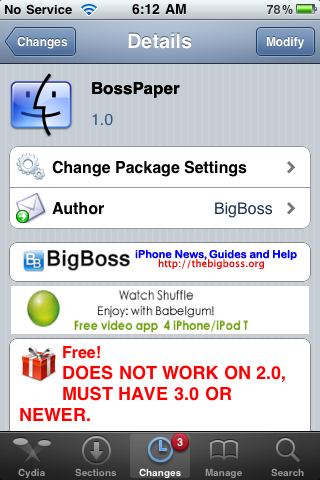 BossPaper 1.0 Released… No Longer Beta