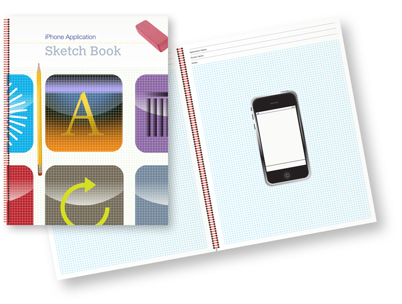 iPhone Application Sketch Book