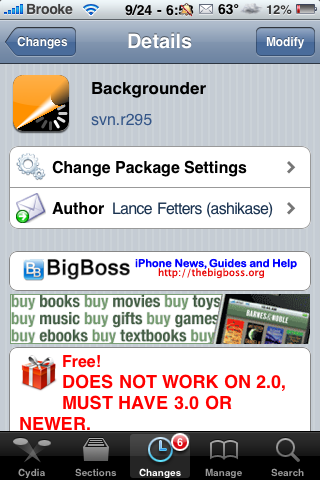 Backgrounder Update – New Features
