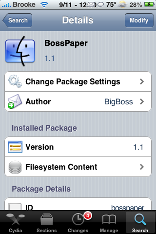 bosspref iphone 3gs