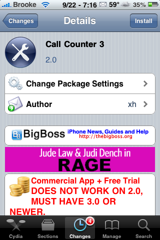 CallCounter 3 – Track Call Information