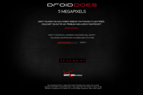 Verizon Droid Ad Specifically Target iPhone