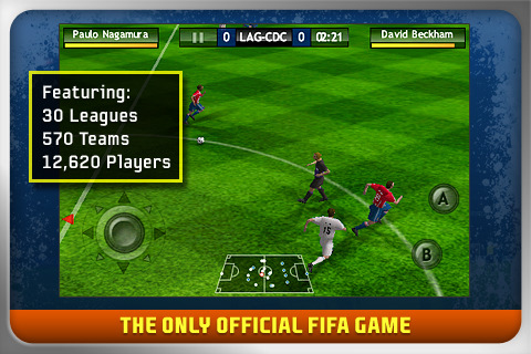 FIFA 10 Now Available in the App Store