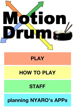 MotionDrum – Get Your Air Drumming On