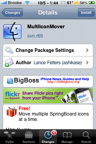 MultiIconMover – Move Multiple Icons at a Time (without a computer)