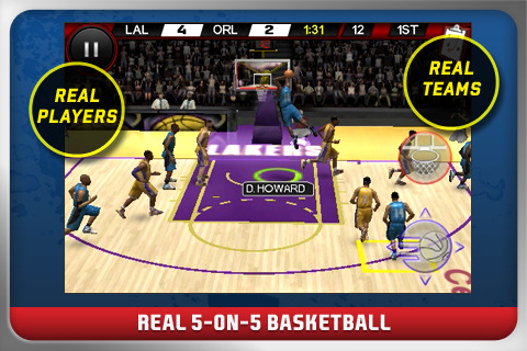 NBA Live Now Available in the App Store