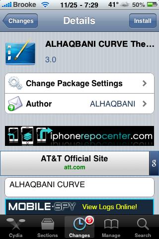 ALHAQBANI CURVE – WinterBoard Theme