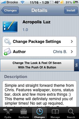 Acropolis Luz – WinterBoard Theme