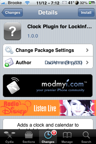 Clock Plugin for LockInfo