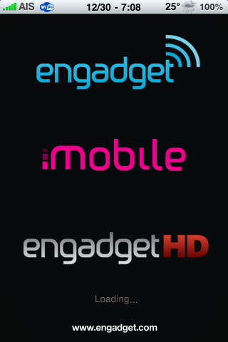 Engadget Releases iPhone App