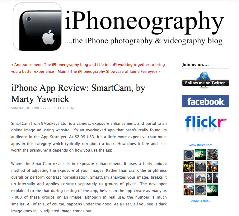 iPhoneography.com – iPhone Photography and Videography Blog