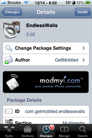 Endless Walls – Wallpaper Application