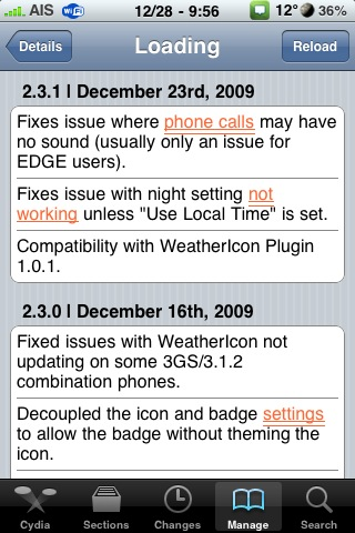 WeatherIcon Update 2.3.1
