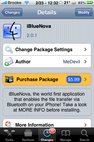 iBlueNova Updated 2.0.1 – Bug Fixes