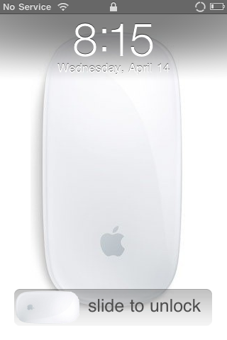 Apple Magic Mouse Lockscreen and Slider