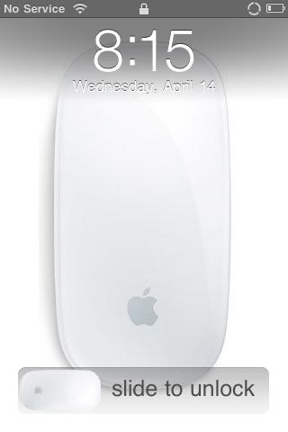 Apple Magic Mouse Lockscreen and Slider