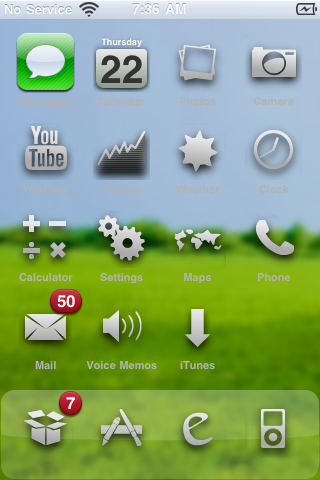 Bliss – WinterBoard Theme