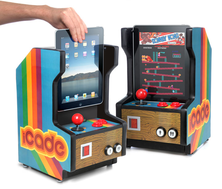 iCade – iPad Arcade Cabinet