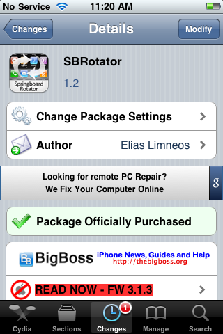 SBRotator Updated – Improved Performance and New Features