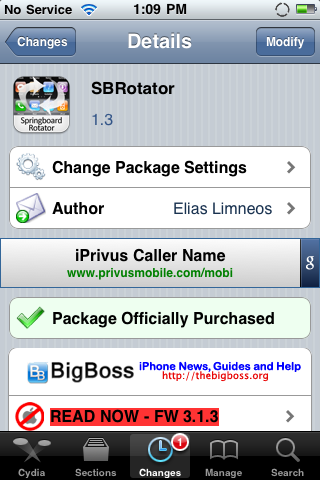 SBRotator Updated – Added Support & Bug Fixes