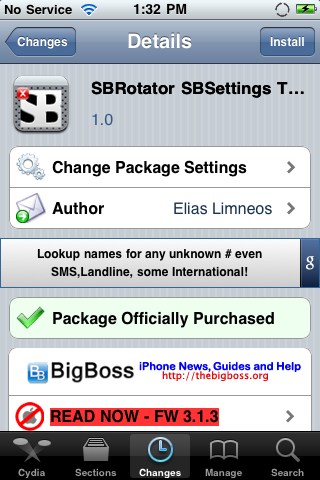 SBRotator SBSettings Toggle