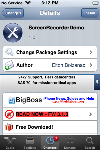 ScreenRecorderDemo – Free Version of ScreenRecorder