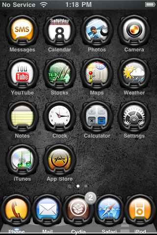 iAwesome – WinterBoard Theme