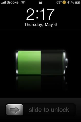 Matte Battery 2.0 – Lock Screen Battery Mod