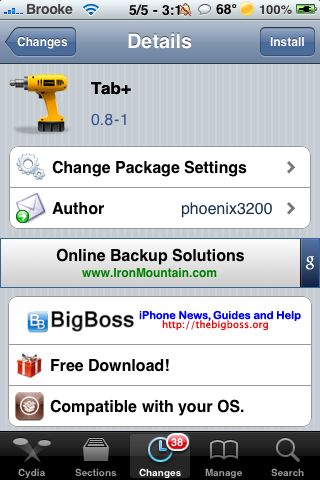 Tab+ – Increase the Number of Tabs Allowed in Safari on iPhone, iPod touch & iPad