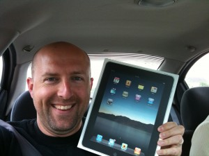 iPad novo!