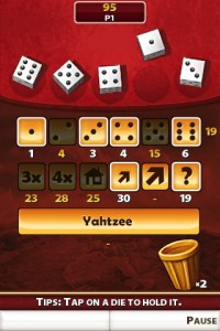 Aventures de YAHTZEE