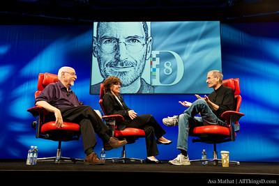 Steve Jobs Interviewed at D8 Conference
