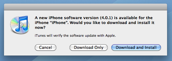 iPhone 4 Firmware Updated to 4.0.1, Doesn't Fix Antenna Issue [video]