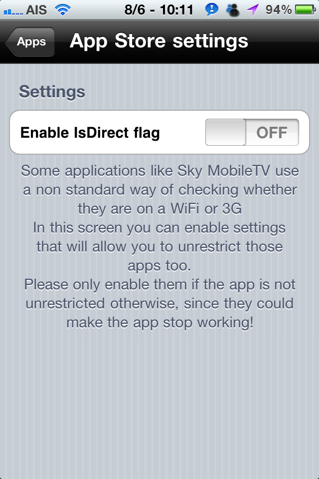 3G Unrestrictor – Enable Wifi Features Over 3G & EDGE (FaceTime on 3G!) (video)
