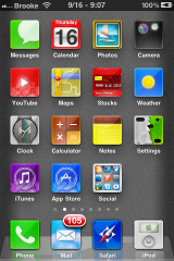 Brilho &#8211; WinterBoard Theme