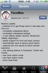 App Store Update Description