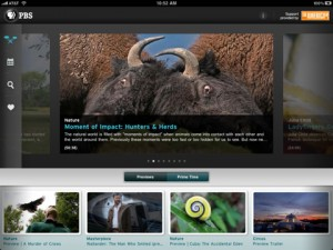 PBS  iPad App