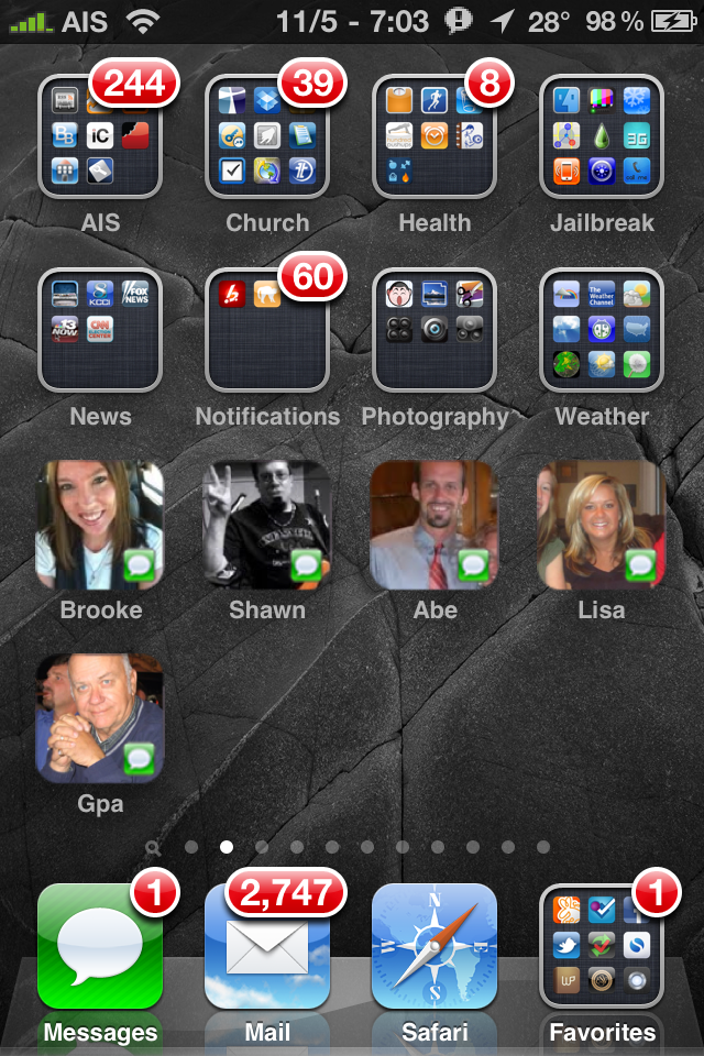CallMe – Add a One Touch Dial or Text Icon for Contacts to Home Screen