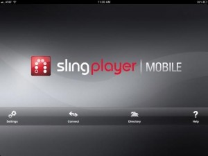 SlingPlayer Mobile for iPad Hits App Store