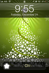 Christmas Tree Lockscreen