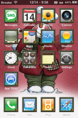 Th�me de bonhomme de neige - th�me de WinterBoard