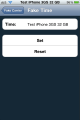 FakeCarrier – Create Custom Carrier Name and Time String