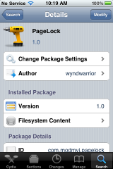 PageLock &#8211; Remove SpringBoard Page Scrolling Ability