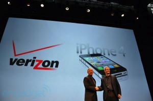o iPhone vem a Verizon, finalmente